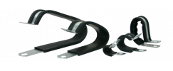 EPDM Extruded Cushion Double Loop Clamps